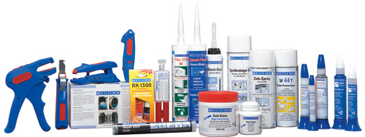 WEICON is the range of chemo-technical products and speciality tools. WEICON products meet the quality requirements of the international market.